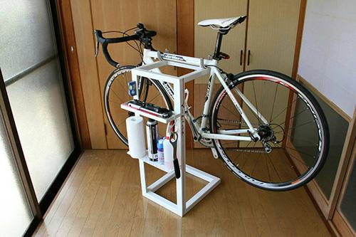 ロードバイク整備スタンド