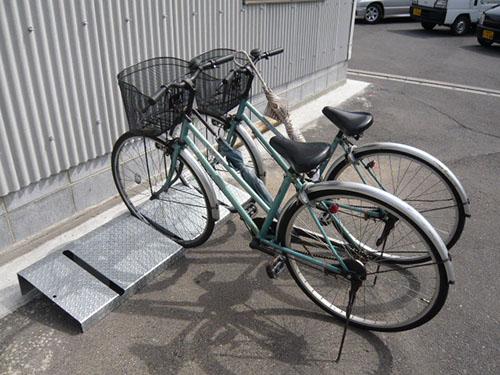 自転車駐輪スタンド